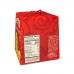 Фото упаковки вид слева панеттоне Италия с изюмом и цукатами Valentino 500г