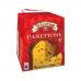 Фото упаковки вид сзади панеттоне Италия с изюмом, цукатами Valentino 500г