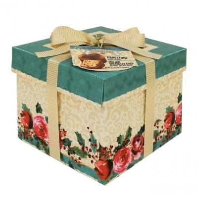 Фото упаковки кулича панеттоне пасхального с изюмом 1000г Италия