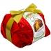 Фото упаковки кулича панеттоне Италия Panettone di Pasticceria красный