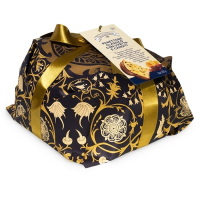 Фото упаковки пасхального итальянского панеттоне Valentino Пастиццерия 1000