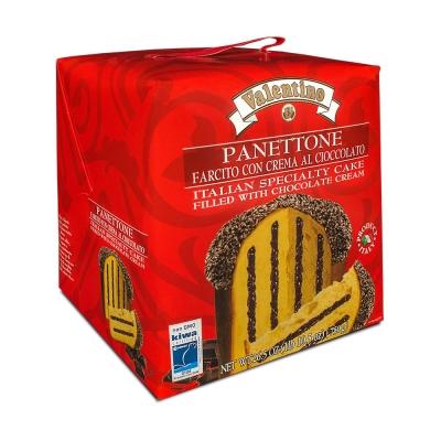 Фото упаковки пасхального кулича панеттоне с шоколадным кремом