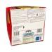 Фото упаковки, вид снизу кулич панеттоне Valentino с шоколадным кремом 750г