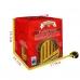 Фото упаковки с размерами панеттоне Италия Valentino шоколадный крем 750г
