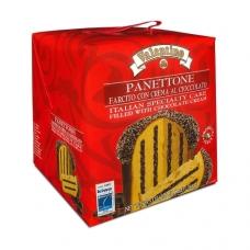 Рождественский кекс панеттоне с шоколадным кремом Valentino 750г