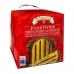 Фото упаковки, вид спереди панеттоне Valentino с шоколад. кремом 750г