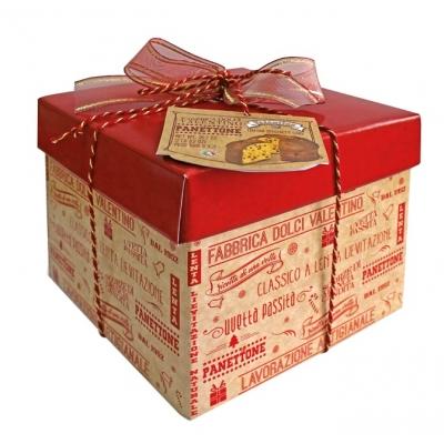 Фото упаковки кулича панеттоне пасхального с изюмом и цукатами 1000г Италия