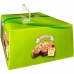 Фотография упаковки сбоку пасхального кулича коломба Италия Valentino 900г
