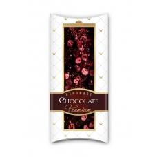 Шоколад Adikam с сублимированными ягодами и фруктами красная смородина и клюква 110г