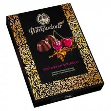 Шоколадные конфеты Madame Pompadour бренди и вкус вишни (Weinbrand-Kirsch) 150г