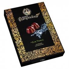Шоколадные конфеты Madame Pompadour джин с тоником (Gin Tonic) 150г