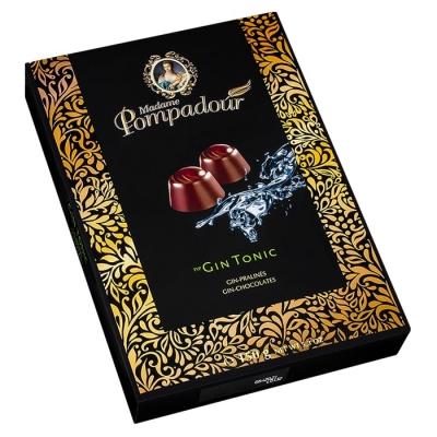 Фото шоколадных конфет Madame Pompadour джин с тоником 150г
