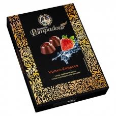 Шоколадные конфеты Madame Pompadour водка и вкус земляники (Vodka-Erdbeer) 150г